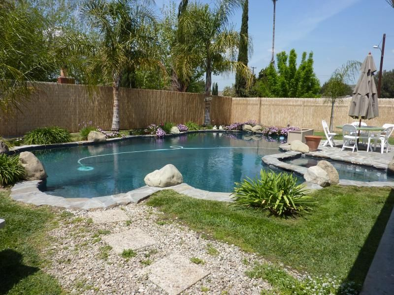 Pool And Patio Decorating Ideas On A Budget Pool Landscaping