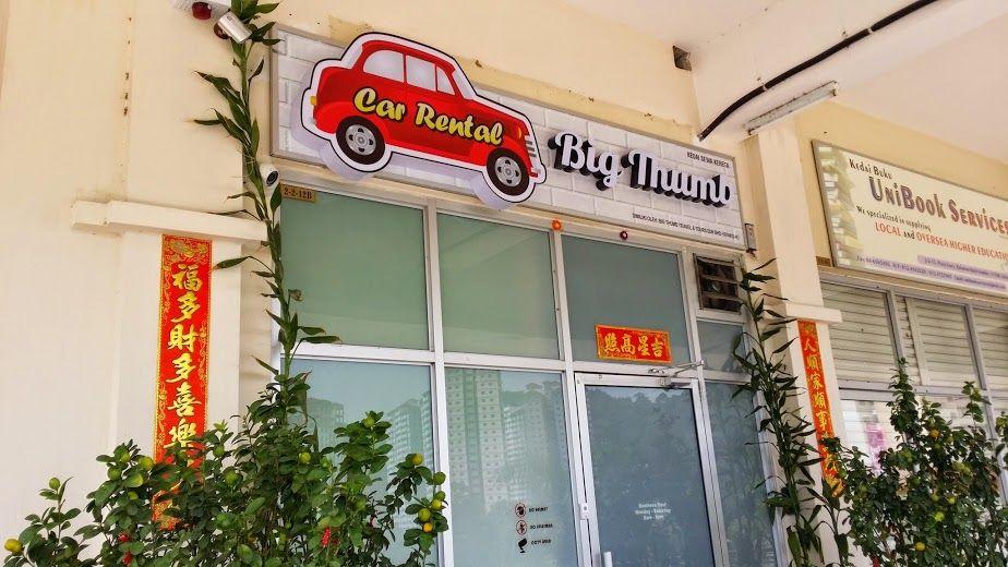 Big Thumb Car Rental Car Rental Car Rental Company Rent A Car