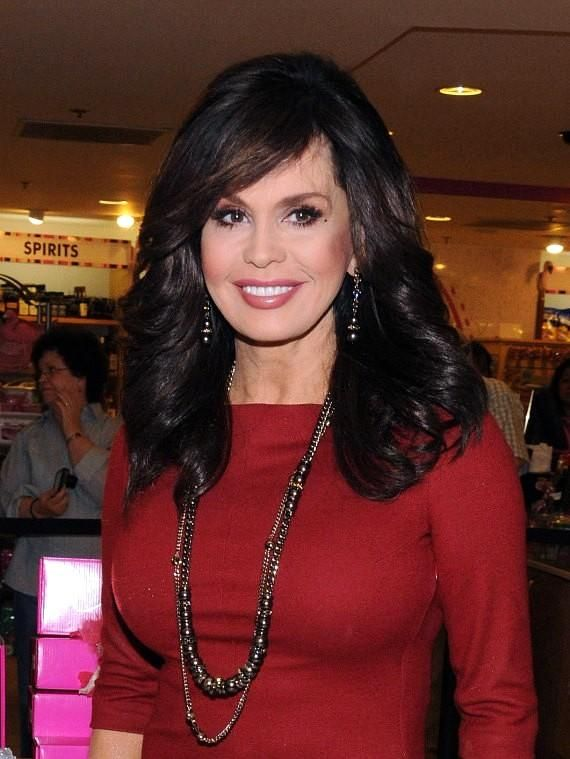 Outstanding Marie Osmond Marie Osmond Celebrates 20Th Anniversary Of Short Hairstyles Gunalazisus