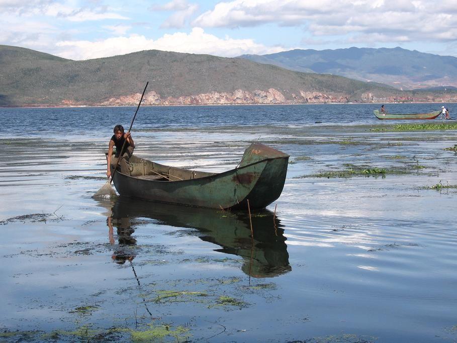 Lake Erhai, Yunnan, China