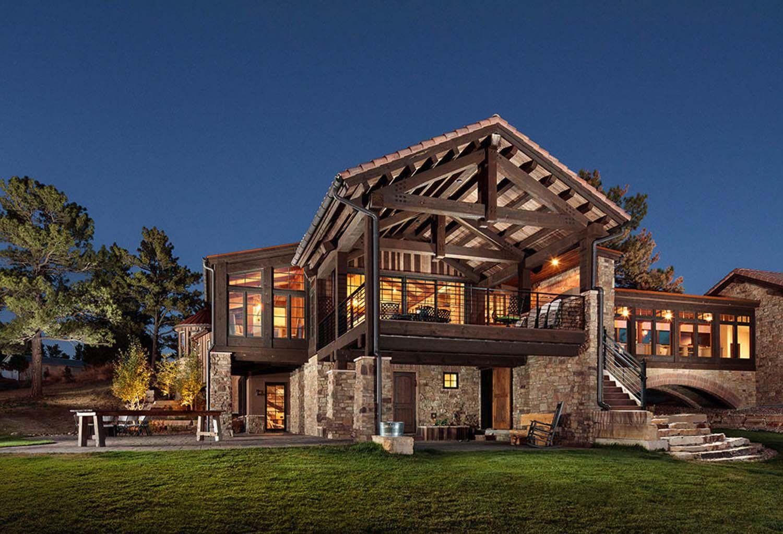 Colorado Residence Offers Rocky Mountain Aesthetic Mixed With European Flair European Home Decor Traditional Interior Design European Decor