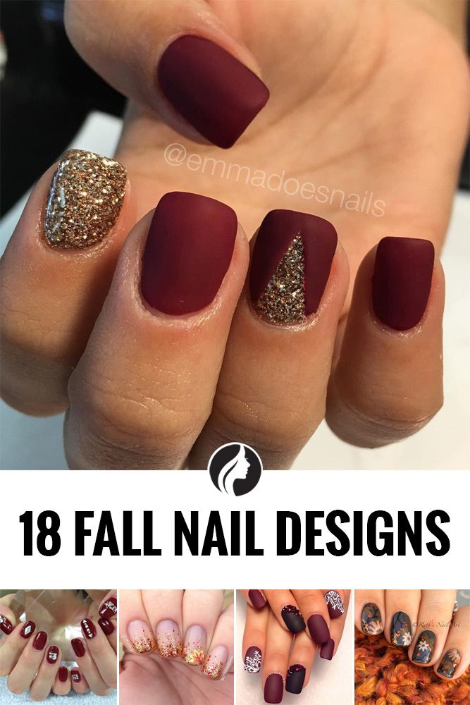 45 Must Try Fall Nail Designs and Ideas | Makeup