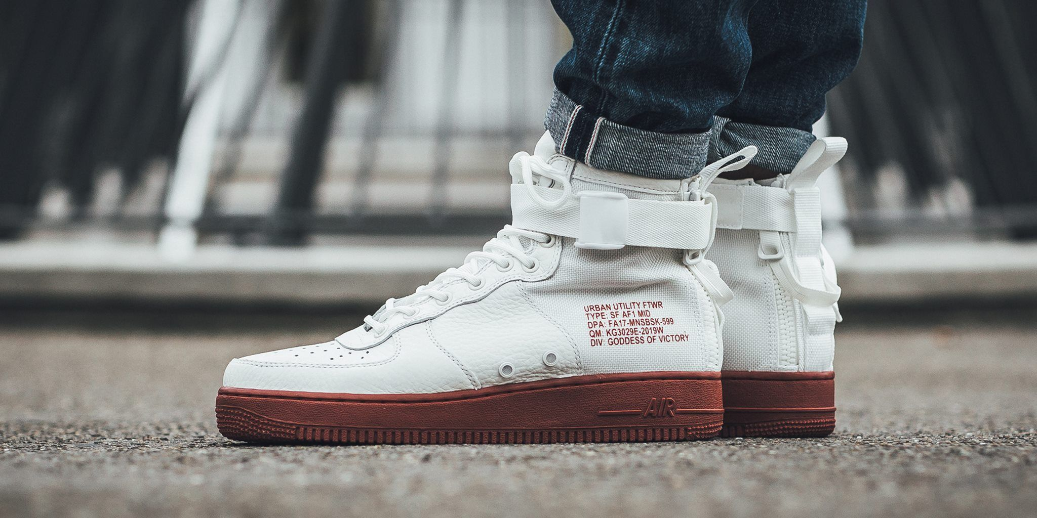 Now Available: Nike Special Field Air Force 1 Mid Mars Stone
