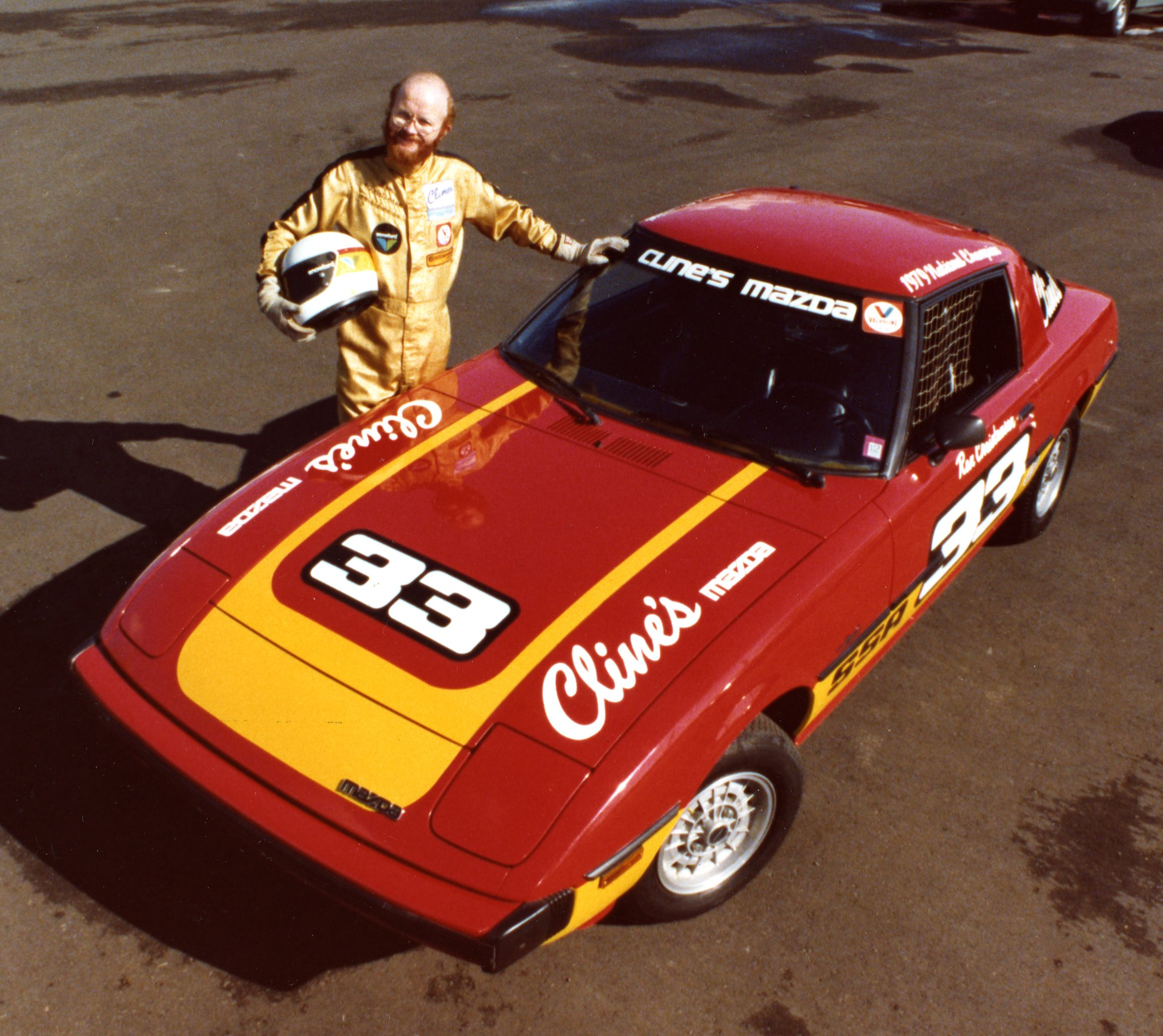 Car 56 14th race car 1980 mazda rx7 courtesy of cline