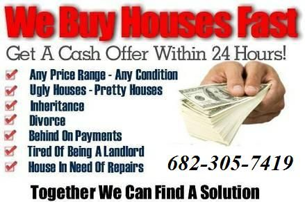 Distressed houses, foreclosure, divorce, job relocation