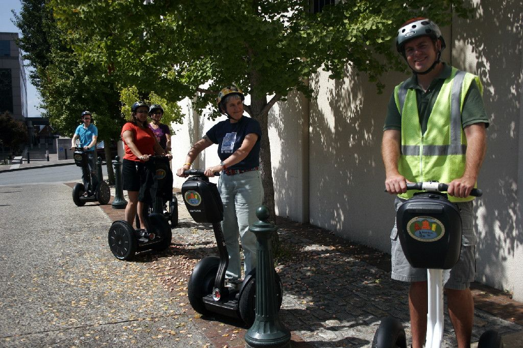 Asheville segway tours interesting way to see the town