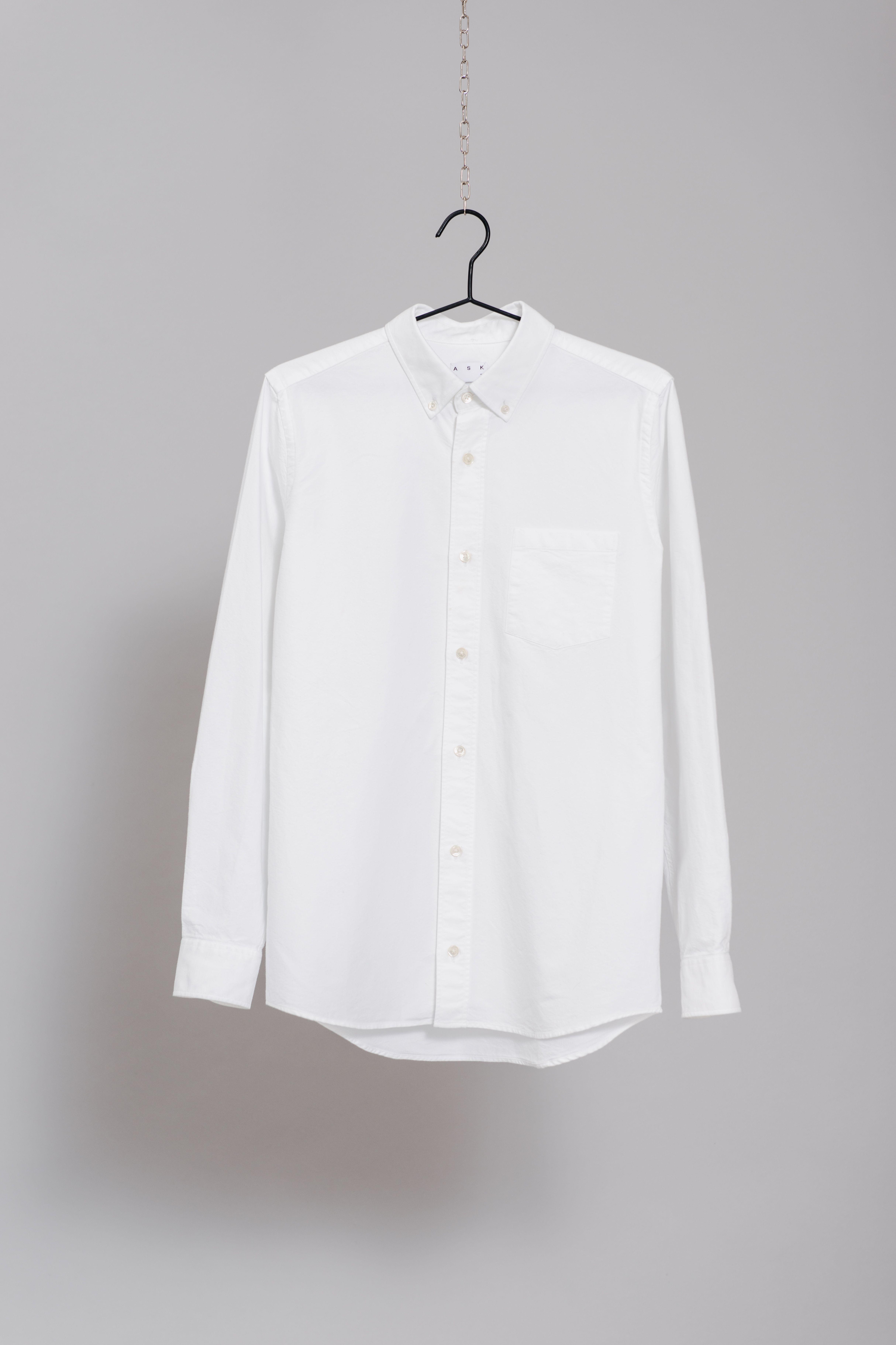e90ce3188e2 The White Oxford Shirt  asket