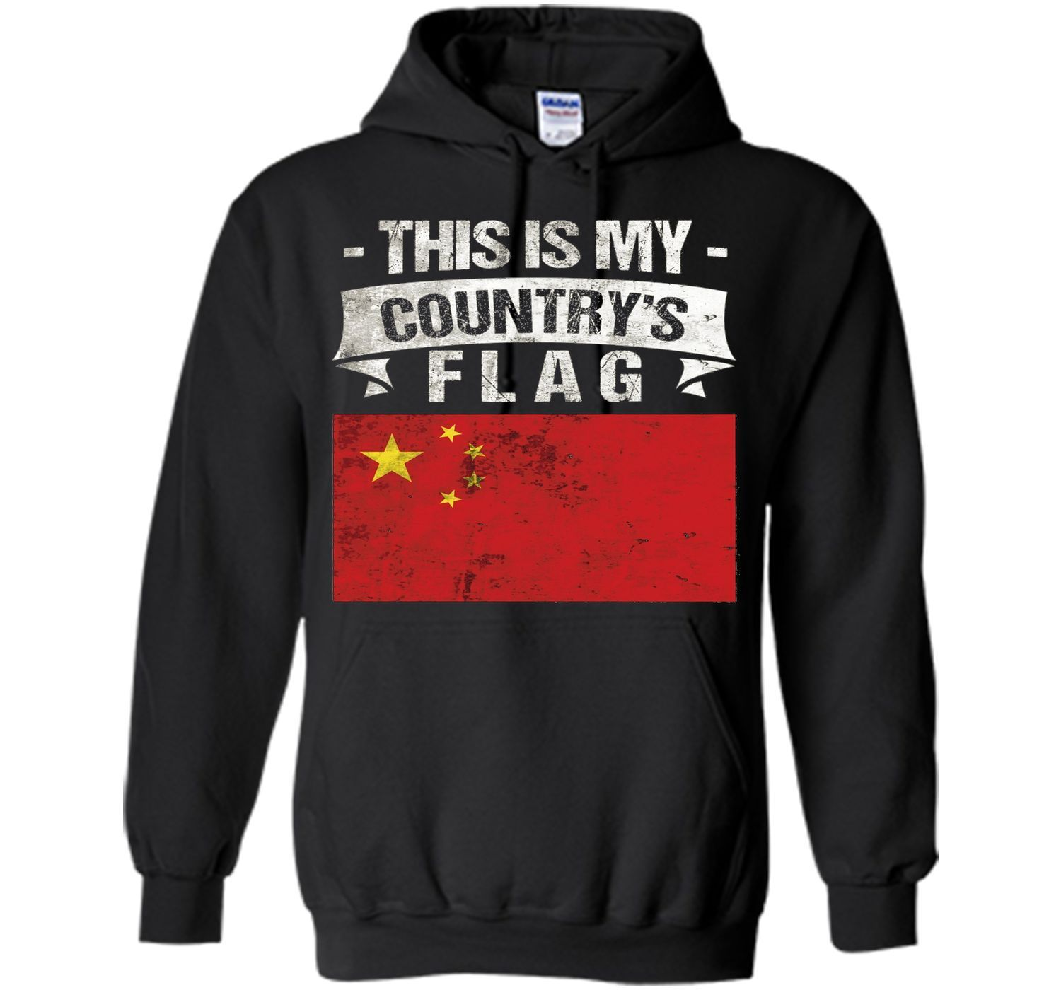 This is My Country's Flag Chinese Flag Day T-Shirt