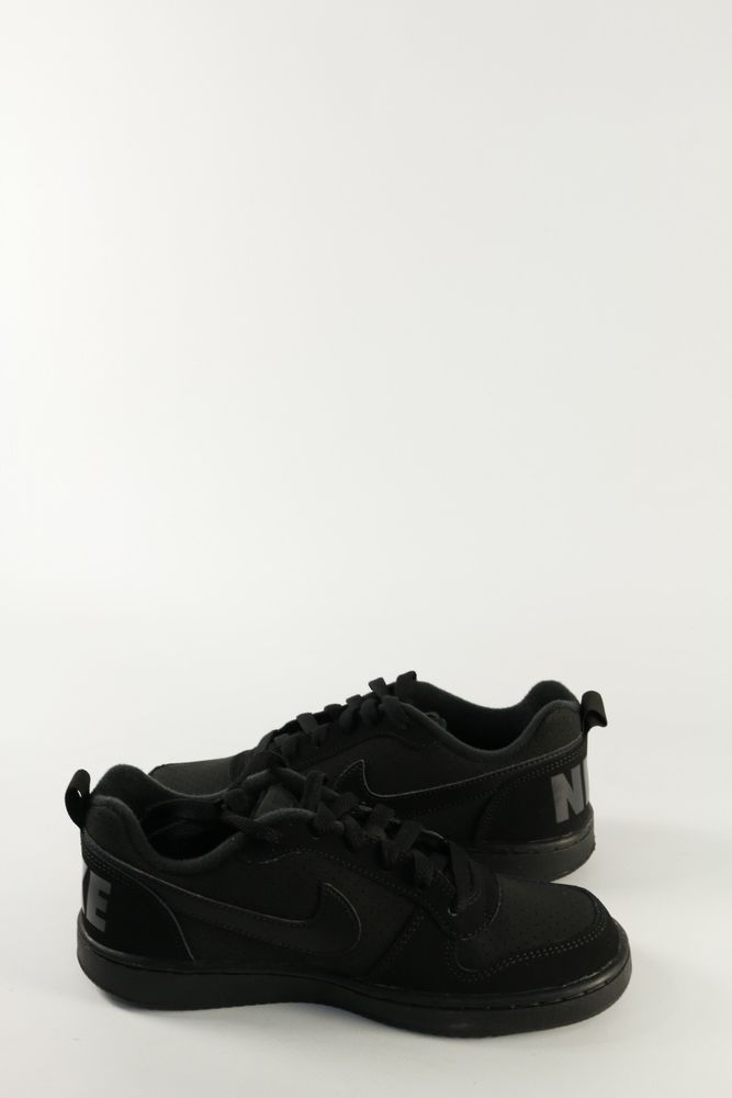 Nike Borough BlackBlackAll Women Court Trainers Low f6ybg7