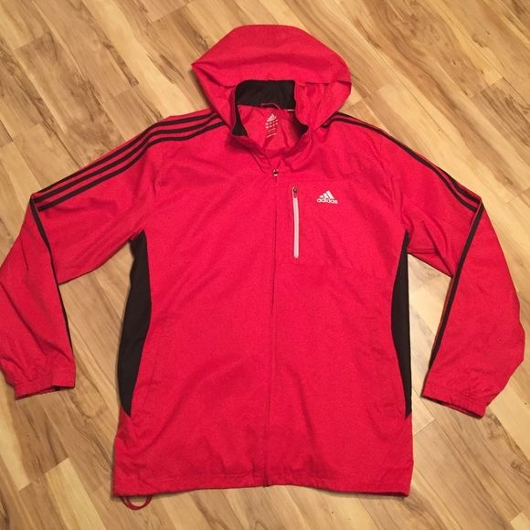 Light pink and black adidas jacket