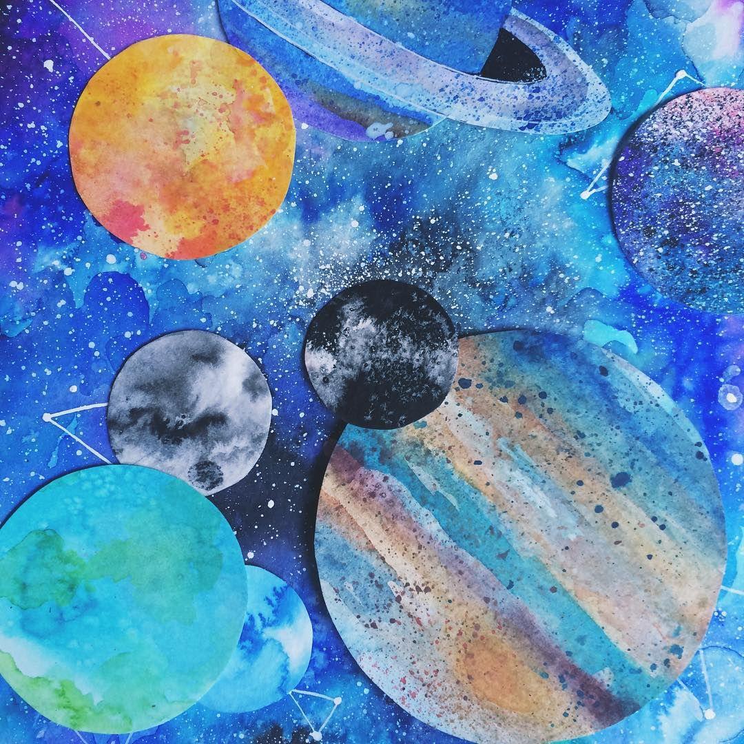 solar system cut-outs  #jupiter #saturn #neptune #moon #mars #callisto ✂️