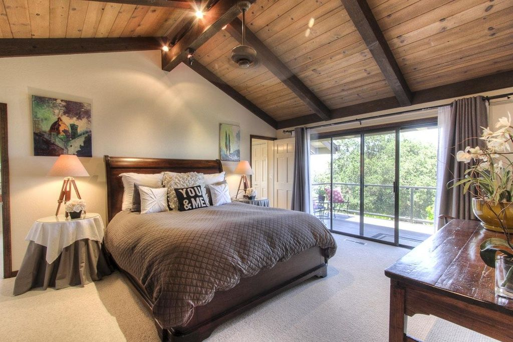 Great Contemporary Master Bedroom With Ceiling Fan By Deesavage69