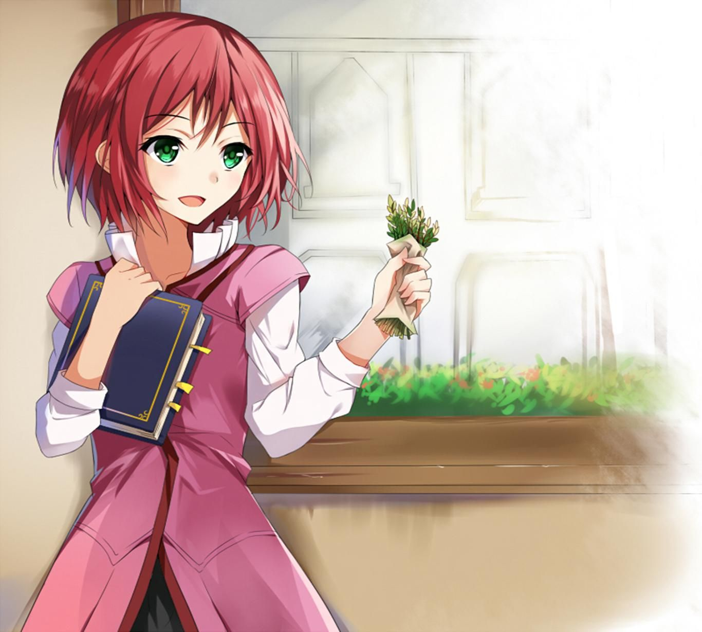Snow White With The Red Hair Snow White With The Red Hair Wallpapers Hd Download Snow White With The Red Hair Red Hair Anime Snow