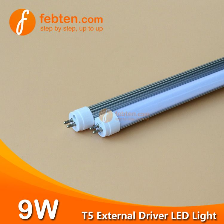 564mm 2feet 9w Led T5 G5 Tube Lighting With External Driver Tube Light Led Tube Light Led