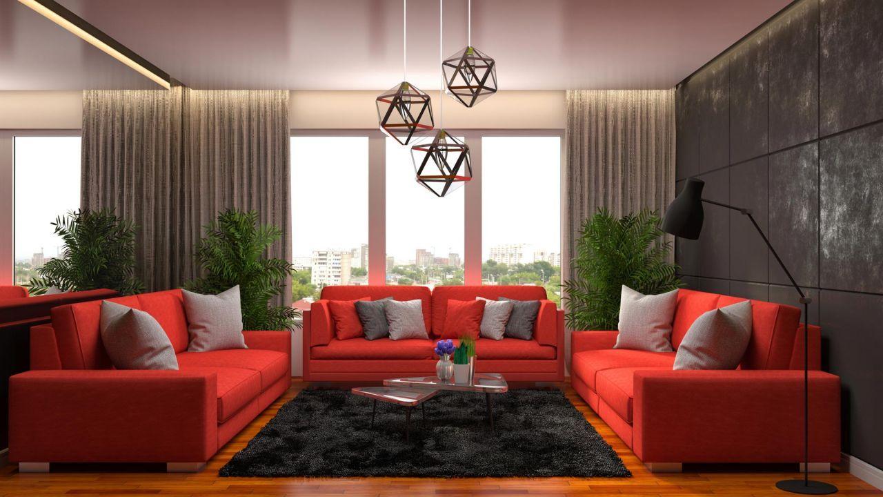 Combinar Sofa De Color Rojo Hogarmania Home Decor Home Furniture