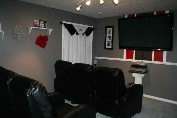 Small Movie Room Ideas: Our Movie Room, Small Room That
