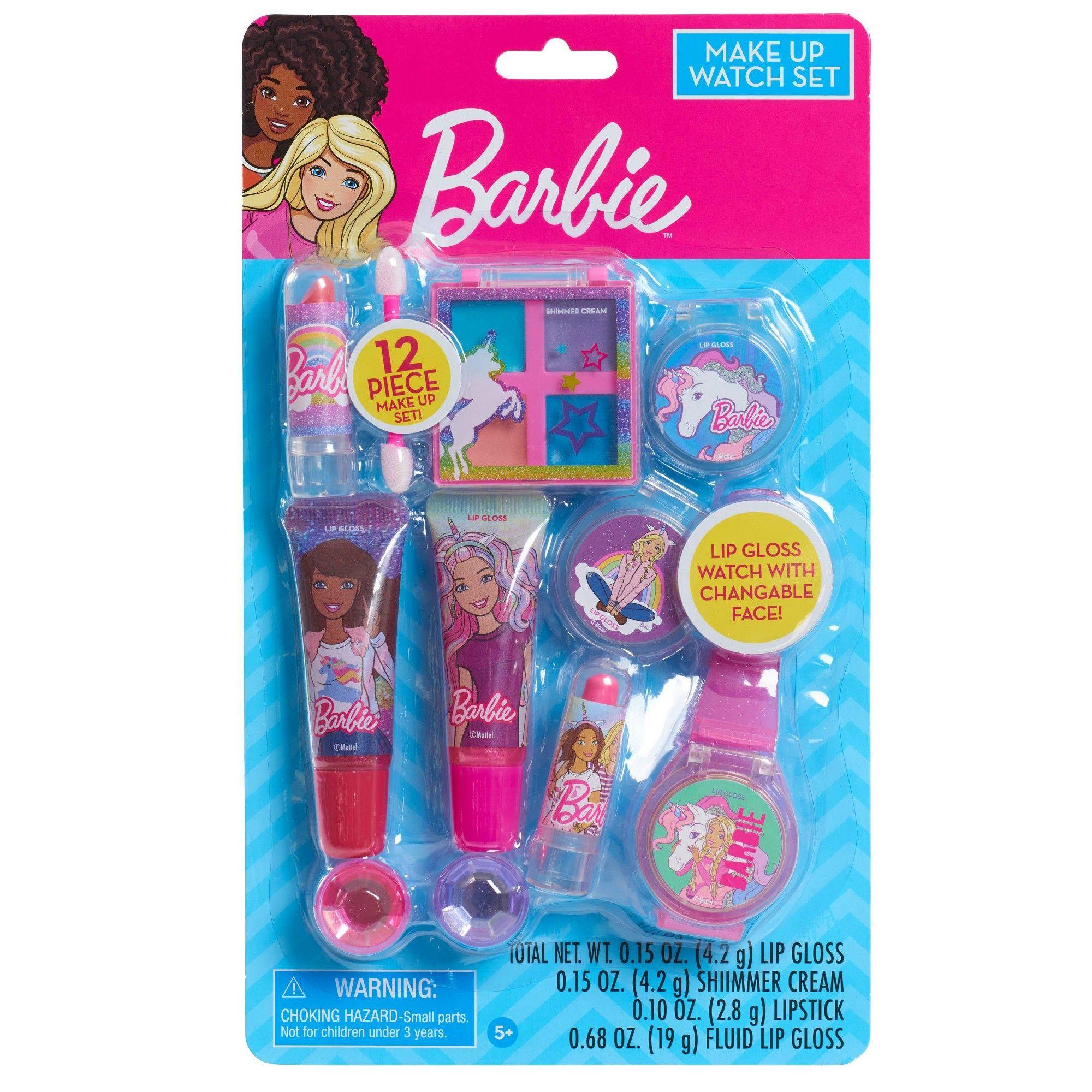 Barbie Make Up Watch Set, Toy Beauty Playsets Barbie