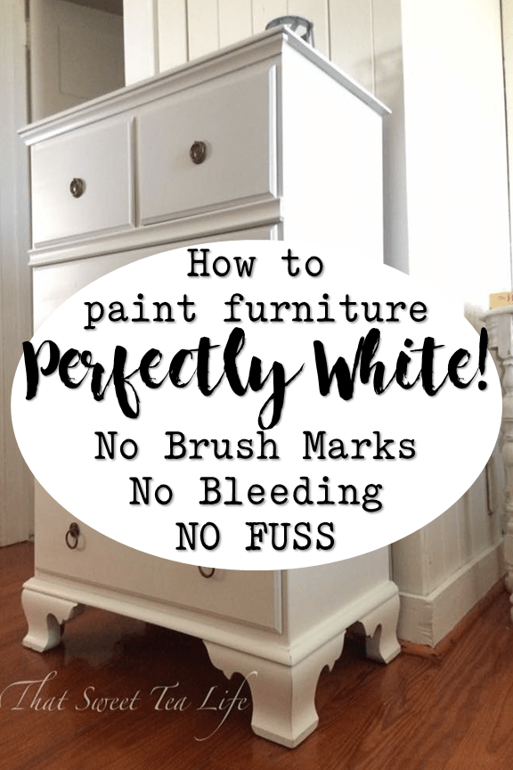 Painting White Furniture The Best No