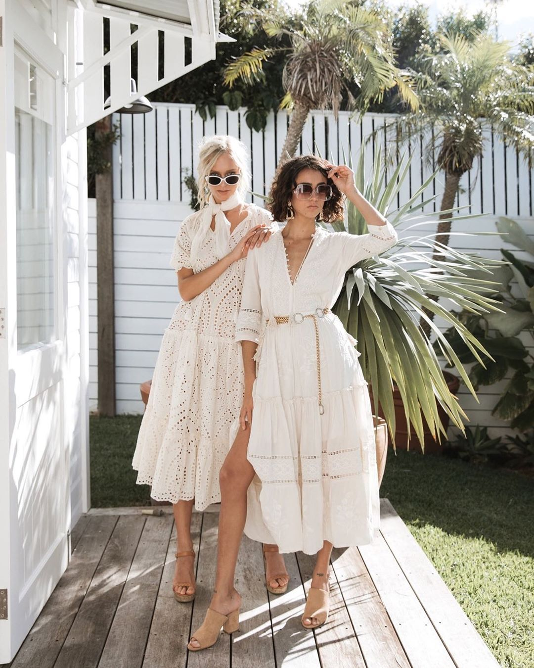 S P E L L On Instagram Match Made In Neongypsy Heaven Kateontheplate In Our Fairytale Angl Garden Party Dress Garden Party Outfit Bohemian Style Dresses [ 1350 x 1080 Pixel ]