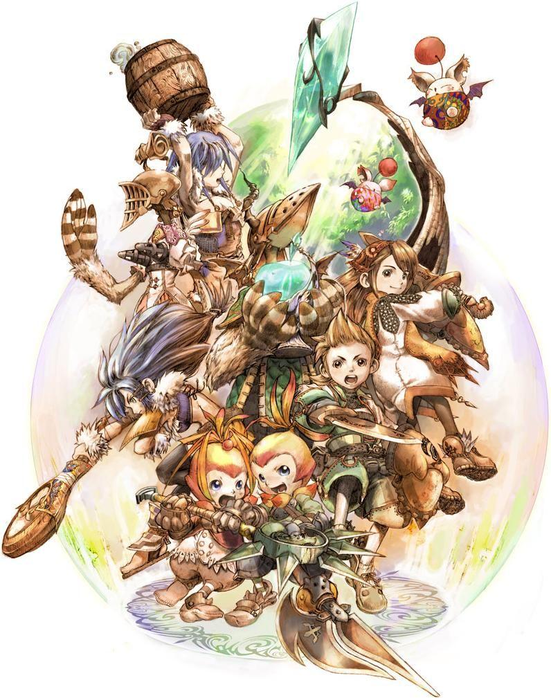 Final Fantasy Crystal Chronicles Final Fantasy Art Final