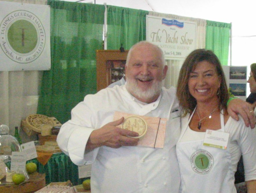 Michel Richard and Stacey Adams delight with French cheese