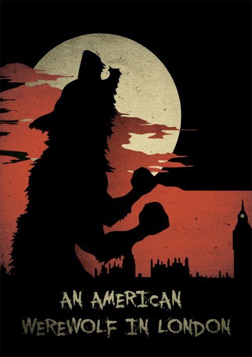 An American Werewolf In London Horrorfilm Poster Werwolf Filme