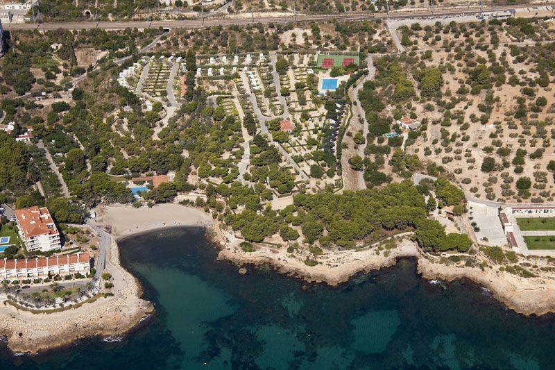 Paseo virtual camping n utico caravaning y bungalows l 39 ametlla de mar en tarragona catalu a - Camping interior tarragona ...