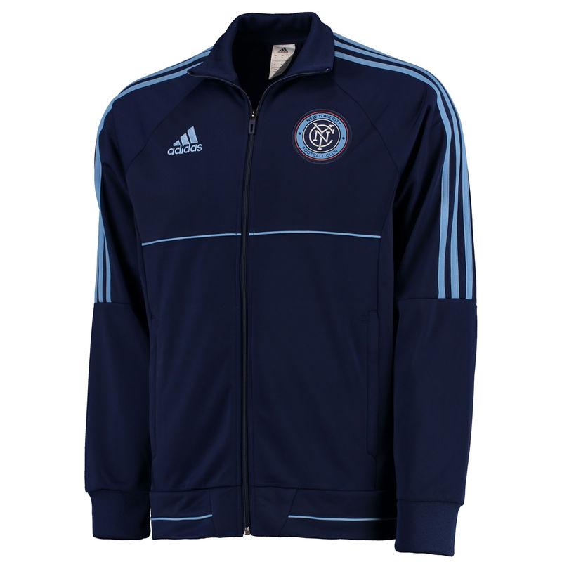 db74834a0b3 Men s adidas Navy New York City FC Anthem Full-Zip Jacket