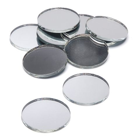 1 Inch Round Mini Glass Mirrors Bulk 100 Pcs Rm13 55b Mirror Crafts Mosaic Tile Mirror Round Mirrors
