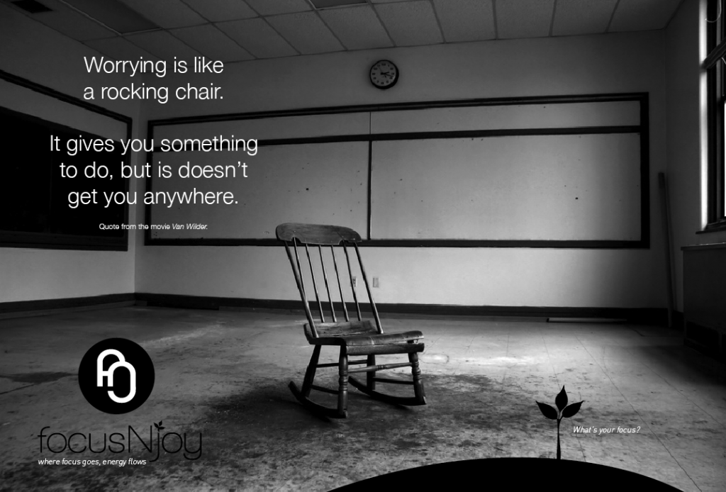Worrying Is Like A Rocking Chair Erma Bombeck Iquote