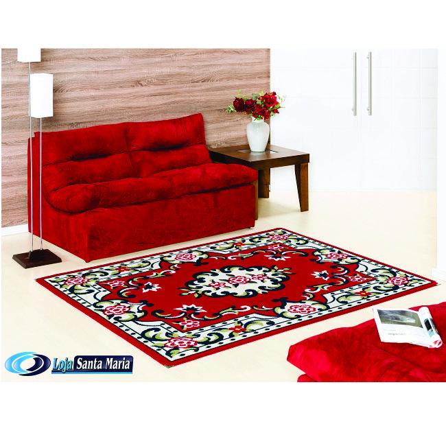 Tapete Lancer - Linha Andino A24- Vermelho  http://www.lojasantamaria.com.br/tapete-andino-a24-vermelho-tapetes-lancer