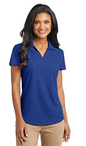 Port Authority Womens Dry Grid Polo 4xlarge True Royal More Info Could Be Found At The Image Url This Is An Affiliate Link Womenstopsandtees