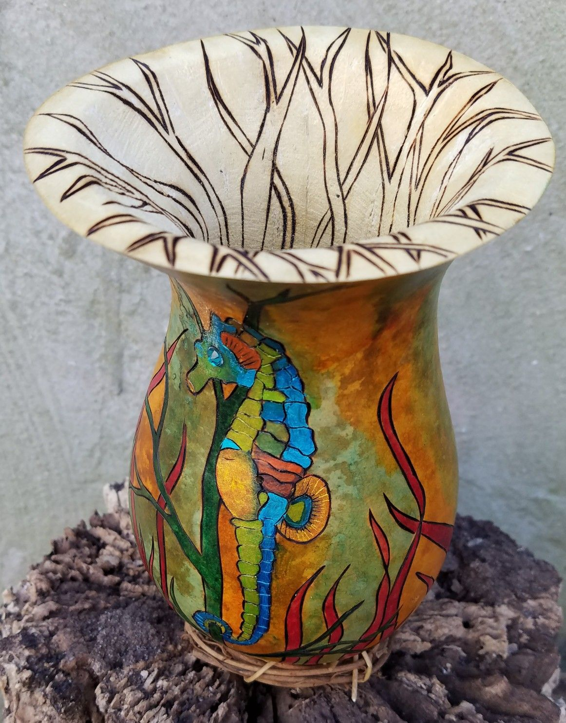 Pin by Susan Sweder on Everythingsweder gourds Gourd art