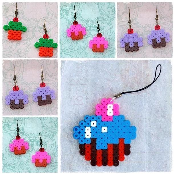 perler beads flores - Buscar con Google