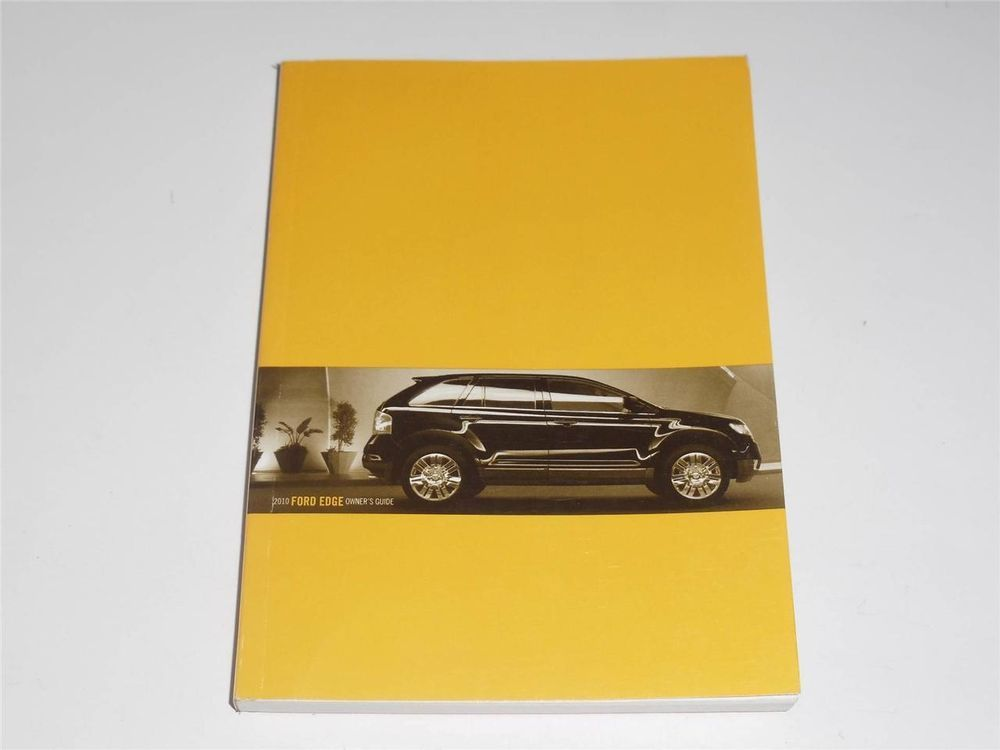 Ford Edge Owners Manual Book