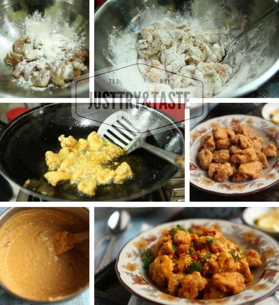 Resep Ayam Goreng Crispy Siram Saus Telur Asin Resep Ayam Resep Makanan Resep Masakan