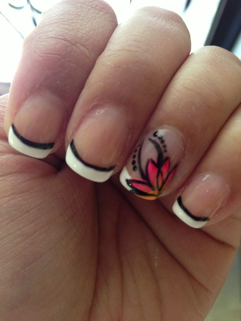 summer time nails 2013 | tagged flower nail art flower nail design ...