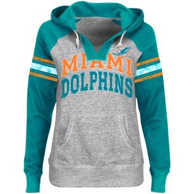 Miami Dolphins Youth Primary Logo Team Color Fleece Pullover ...