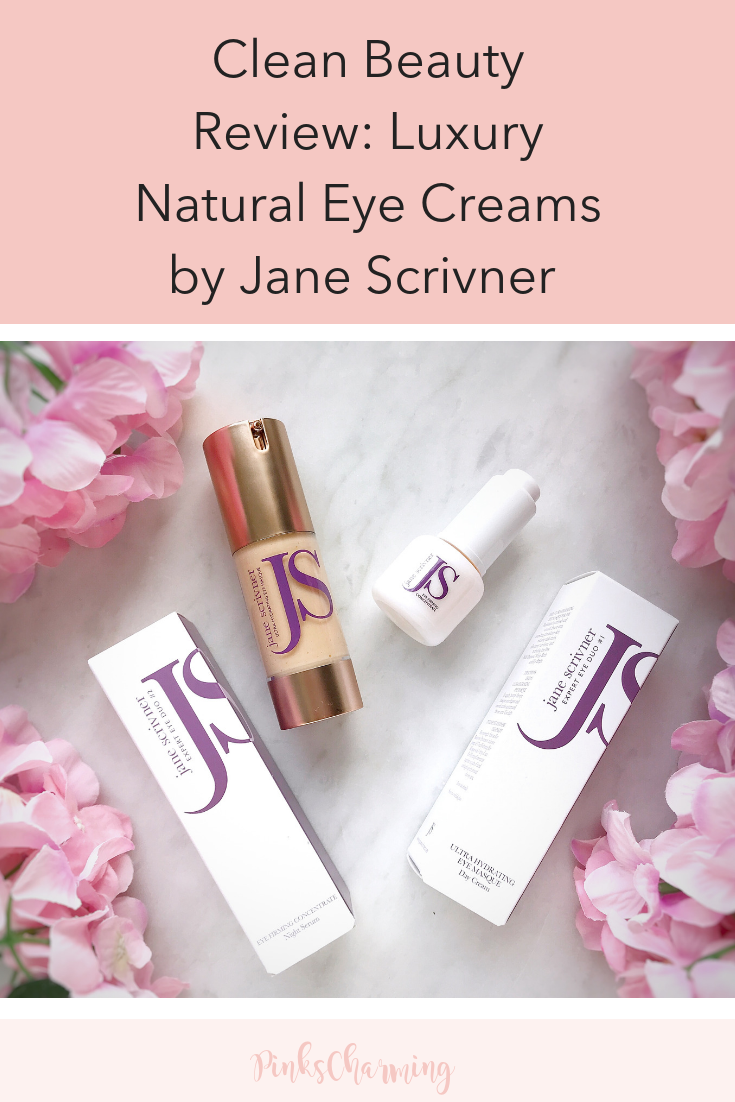 Luxury Natural Eye Creams by Jane Scrivner Natural eye