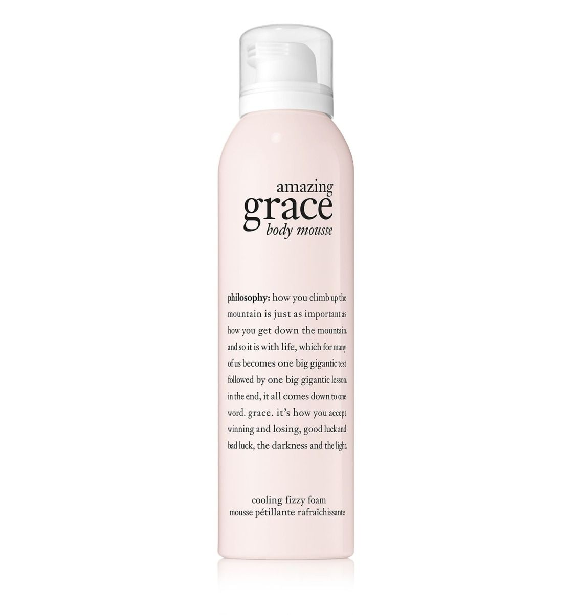 Amazing Grace Body Mousse Wakes Up Your Skin With An Instantly Cool And Fizzy Sensation While It Smooths Ski Philosophy Amazing Grace Dry Shampoo Amazing Grace