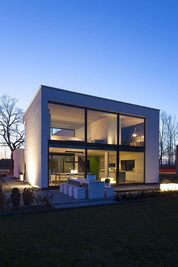 Modern House Design Flachdach Haus