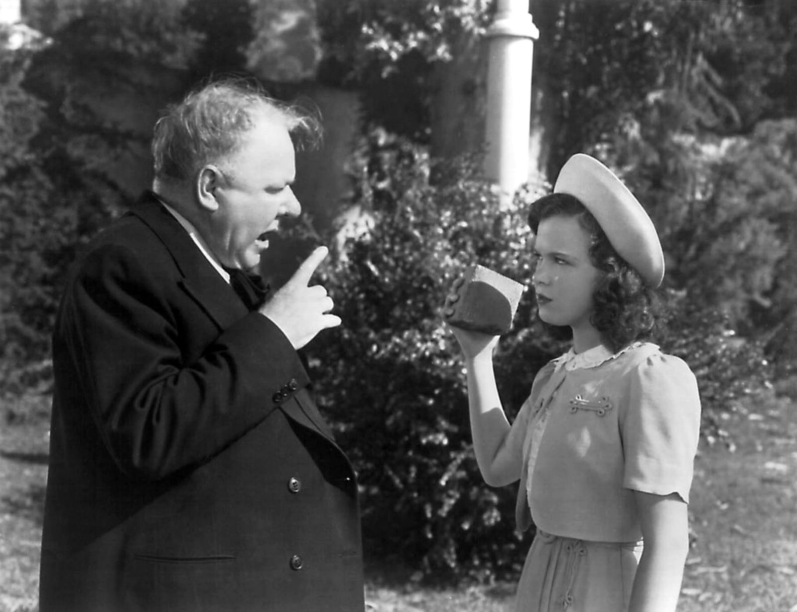 W.C. Fields with Gloria Jean