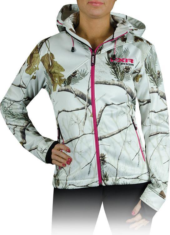 7d2a263f3cc19 FXR Women s Entice Camo Softshell Hoodie   159.99  Camo  Snowmobile  FXR