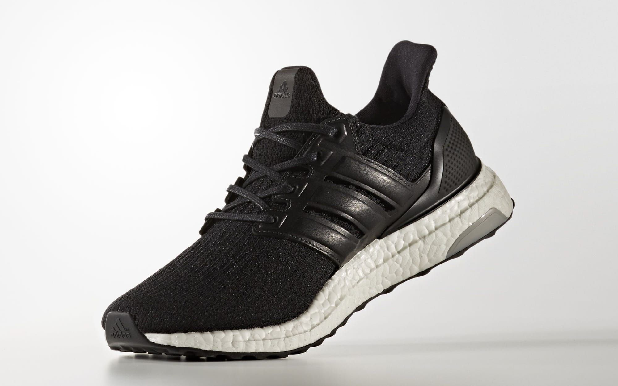 Black Adidas Ultra Boost Leather Cage