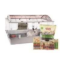 Living World Deluxe Rabbit Starter Kit Large 96 Cm L X 57 Cm