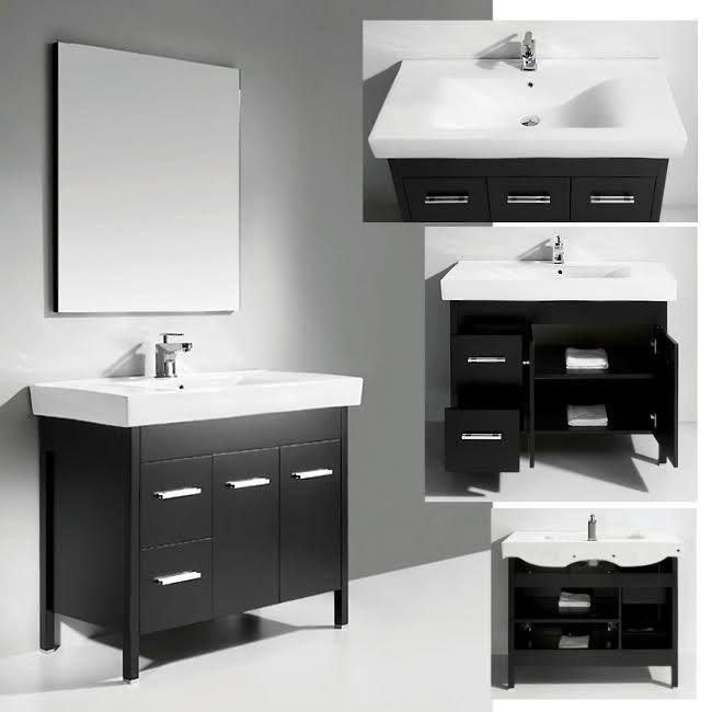 Legion Furniture Wc914 Modern 40 Inch Single Sink Bathroom Vanity Inspiration 40 Inch Bathroom Vanity Inspiration