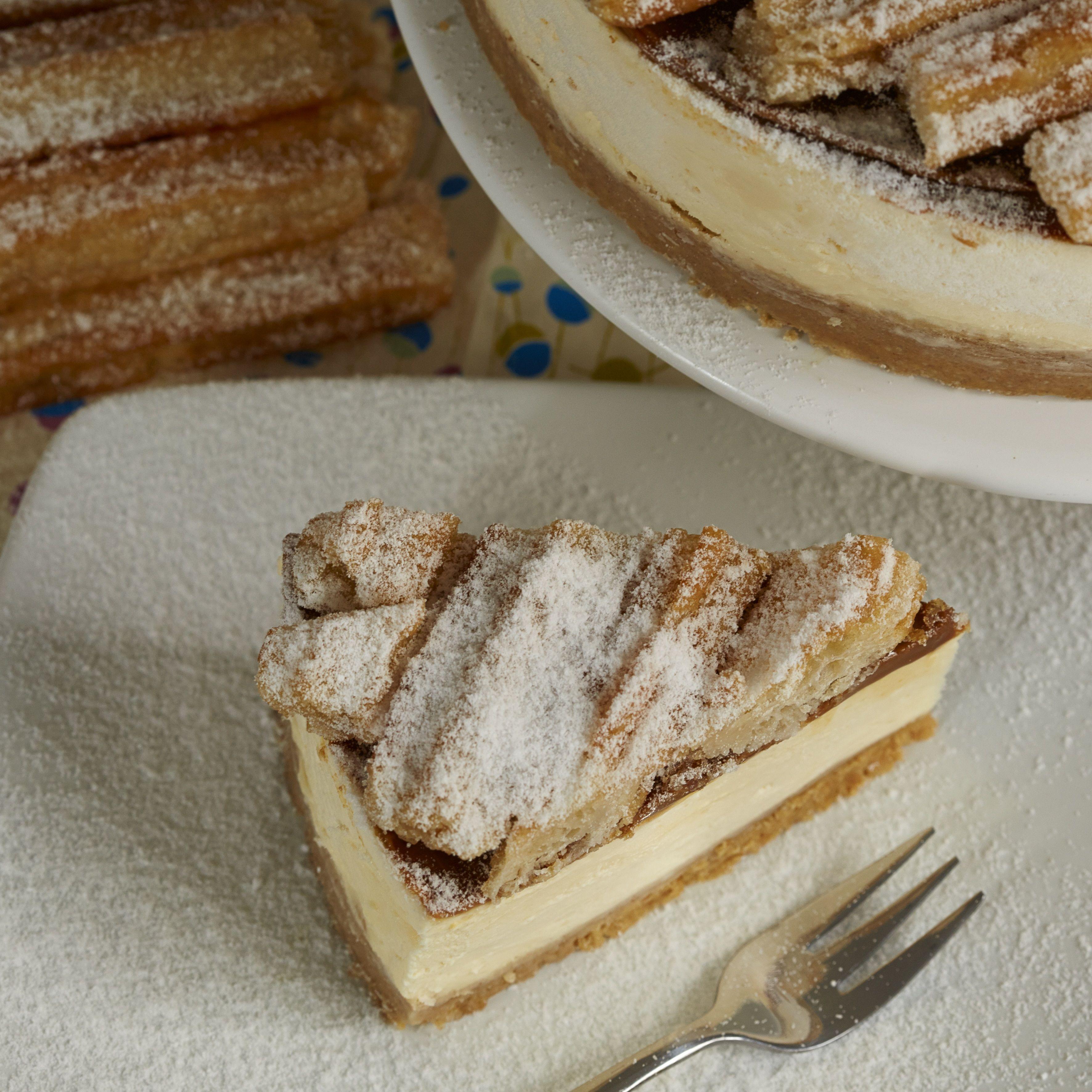 Toffee Churros Cheesecake.