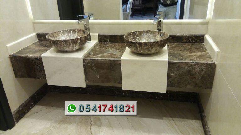 مصنع ايديال استون مغاسل رخام طبيعي وصناعي تفصيل حسب الطلب مغاسل رخام حديثة مغاسل رخام جدة خبرة اكثر من 22 عاما Dog Bowls Bowl Dogs