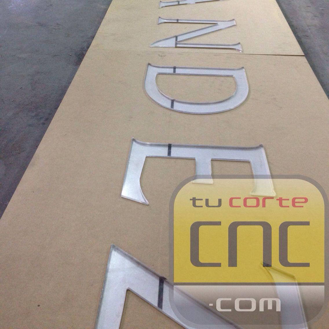 #cnc #acrilico #mdf #tucortecnc