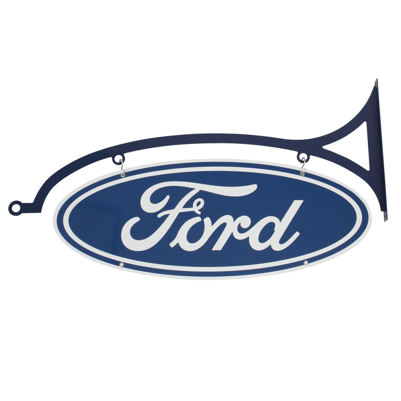 Double sided ford oval 174 95 mancave